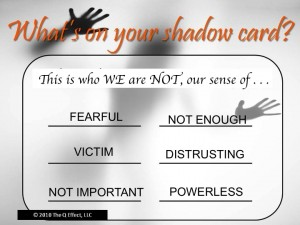 Unity Spiritual Center's Shadow Card